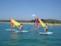 A perfect place to learn windsurfing