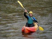 Open kayak, nivel I, río Cabriel, Venta del Moro