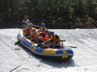 Descenso de rafting en Murcia