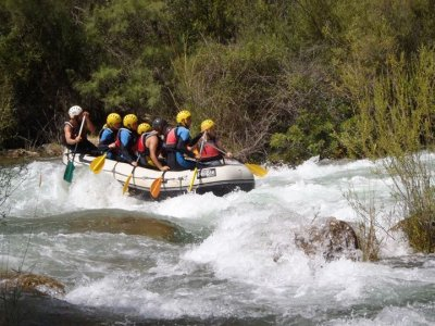 Rafting integrale Grand Canyon Hoces, Venta del Moro