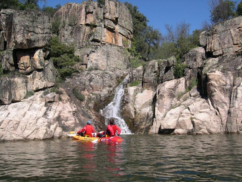 Exhaustive kayaking course