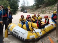 Rafting for families on Cabriel river kids offer