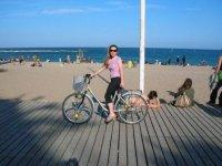 Barceloneta in bicileta