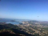 Espectacular vistas desde el parapente