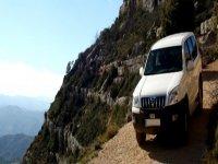 4x4 vehicle on a hillside