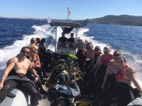 Viaggio di immersione in pneumatico