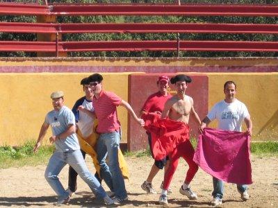 Fiesta campera: capea + menú en Torrejón el Rubio
