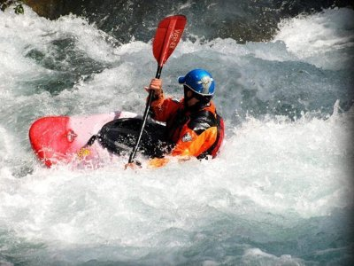 皮划艇,白水中Cinca的下降