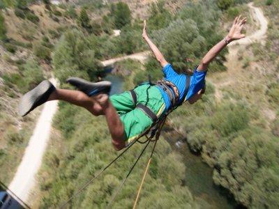Puenting sobre el Cabriel 24 metros Enguidanos