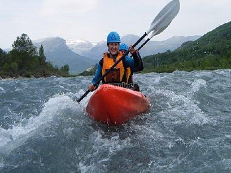 Kescenso de kayak