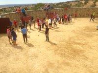 Capea + juegos en Colmenar Viejo