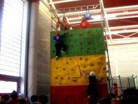 Climbing and zip line