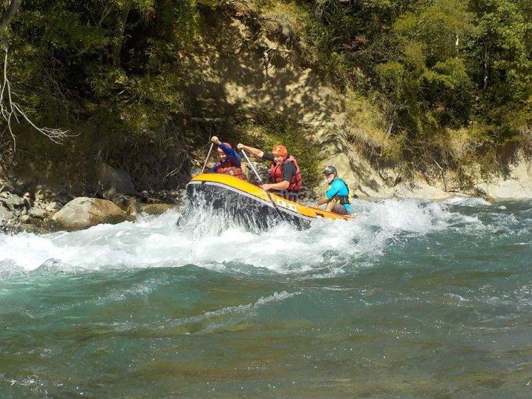 Rafting descend Esera river
