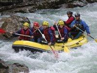 Go rafting in Esera