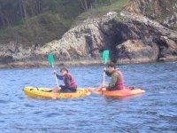 Ruta costera en kayak en la ría de Sada, 4h adulto
