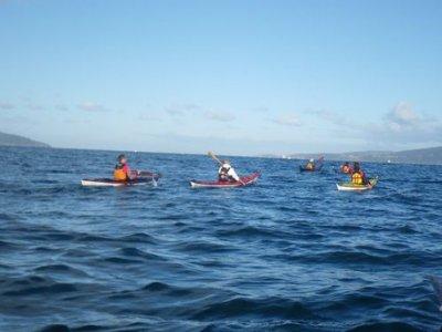 Ruta costera en kayak por la ría de Sada, 4h niños