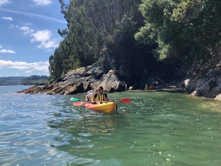 Excursión en kayak ría de Sada