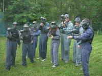 Paintball en grupo