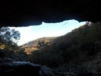 Rappel y senderismo cerca de Sierra Morena