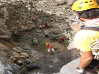 壮观的水上滑梯集团峡谷实践
