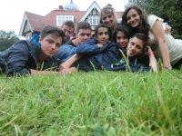 Grupo de alumnos de inglés