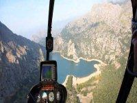 日落直升机直升机内政部
