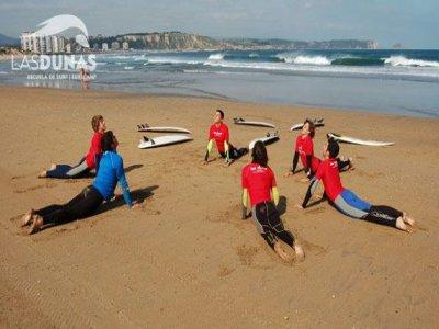 Corso di surf di iniziazione di 5 giorni, Salinas