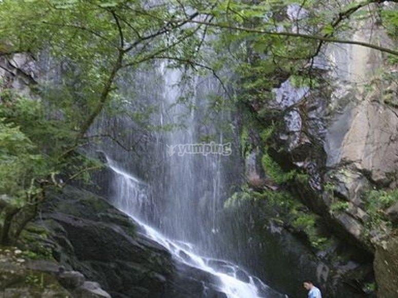 cascadas mño