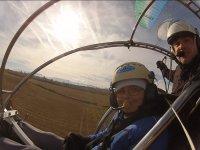 Volando con piloto de paratrike