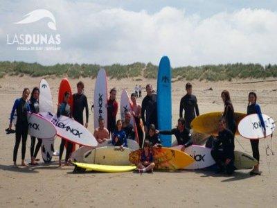 Corso di surf di iniziazione di 7 giorni, Salinas