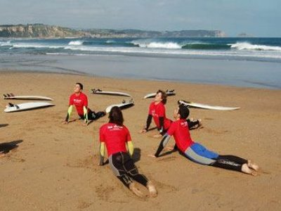 Corso di surf per il miglioramento del fine settimana