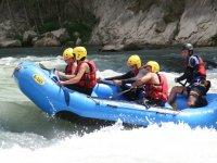Whitewater rafting!