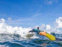 Noleggio di tavole da surf di mezza giornata