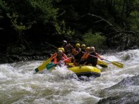 Rafting en el Bidasoa