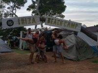 Campeggio a Ibiza