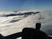 Ride through the clouds