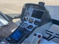 Control de mandos del helicóptero