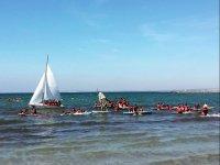 Giornata degli sport acquatici nel campo