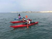 Arrampicata ai kayak a Santa Pola
