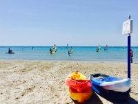 海滩圣波拉的风帆