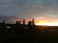 One-seater Quad Trail + Sunset Picnic, 3 hours