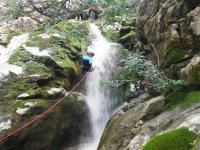 Rapel de la cascada