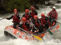 Rafting on Noguera river