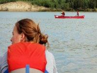 Canoas en grupo