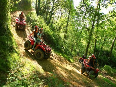 Two-seater quad route in Saint-Pée, 5 hours