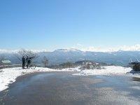 Ruta con nieve