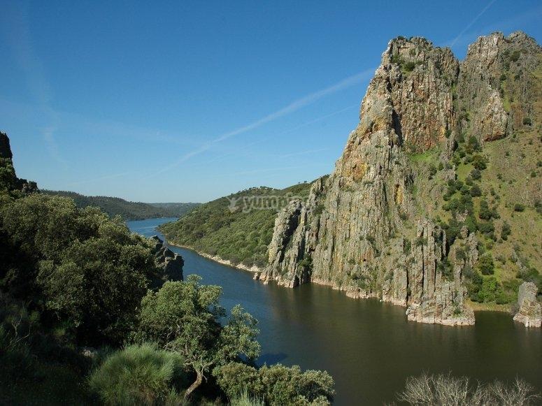 Valles y ríos en Cáceres