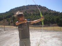 Practica el tiro con arco