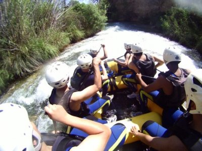Rafting Cabriel River + menu de la nourriture