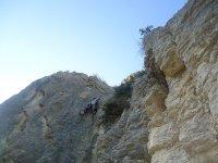 climbing in moia
